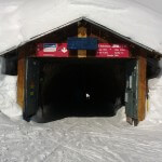 Ingang tunnel Hohstock piste Belalp