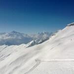 Belalp Skipiste Hohstock met uitzicht op de Matterhorn