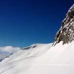 Belalp Skipiste Hohstock verse sneeuw